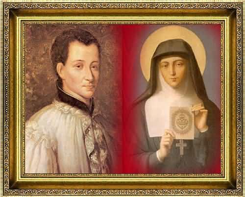 Sveti Claude de la Colombière i sveta Margareta Marija Alacoque
