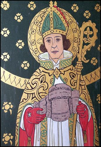 Saint Fursey upa svetog Nikole biskupa Jastrebarsko Svetac dana