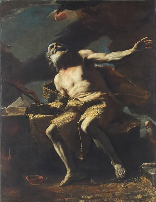 Slikovni rezultat za Sv. Pavao, prvi pustinjak